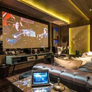 Projeto acustico sala de cinema