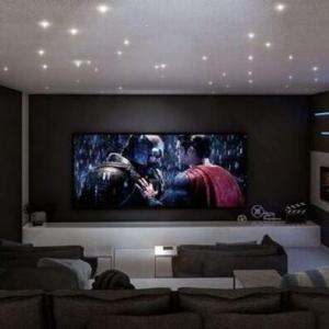 Projeto sala de cinema residencial