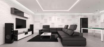 Projeto para sala de estar e tv