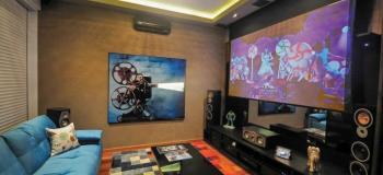 Projeto sala home cinema